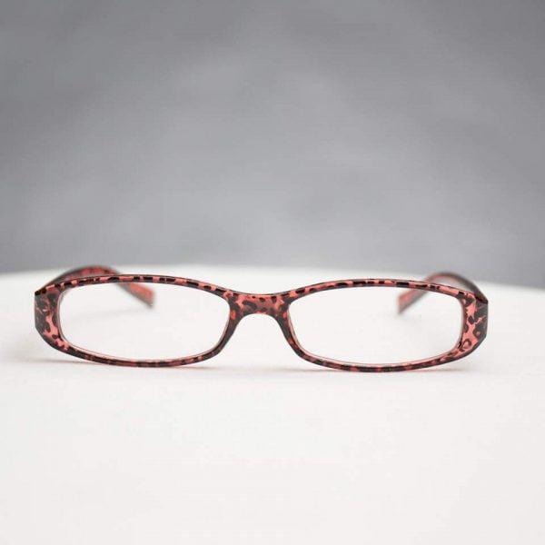 Vittoria läsglasögon Mörkrosa
