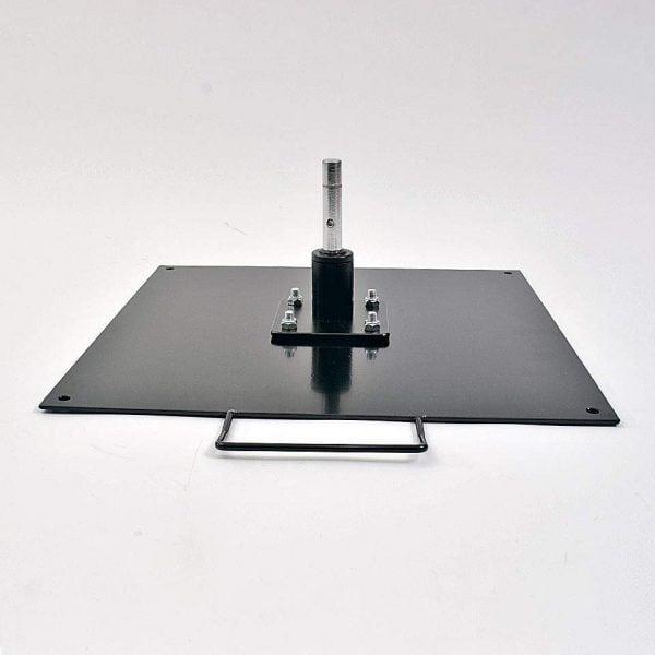 Markplatta pulverlackerad stål