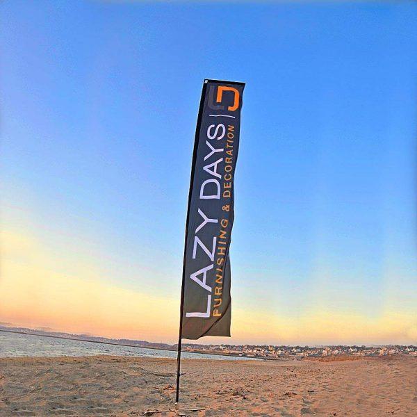 Beachflagga RAK