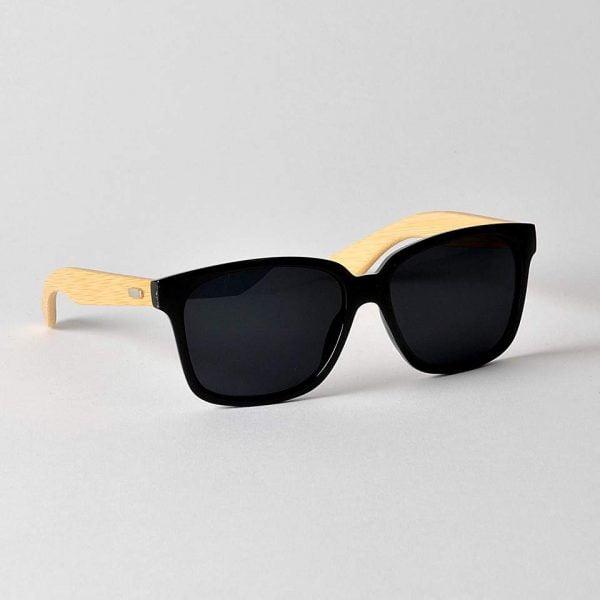 Bologna Svart Blank Solglasögon