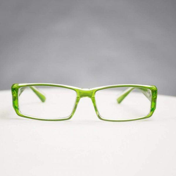 Modena läsglasögon Gröna
